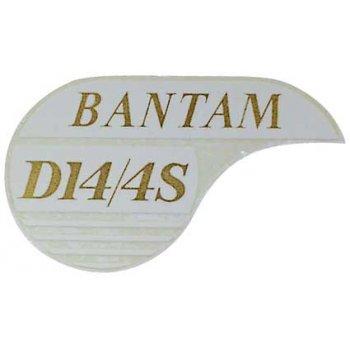 BSA Classic Bike Bantam Classic Motorcycle Transfer D14/4S Made in UK