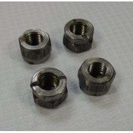 Classic BSA A10 & A65 Connecting Rod Nuts Set of 4 Made in UK OEM No 67-1537