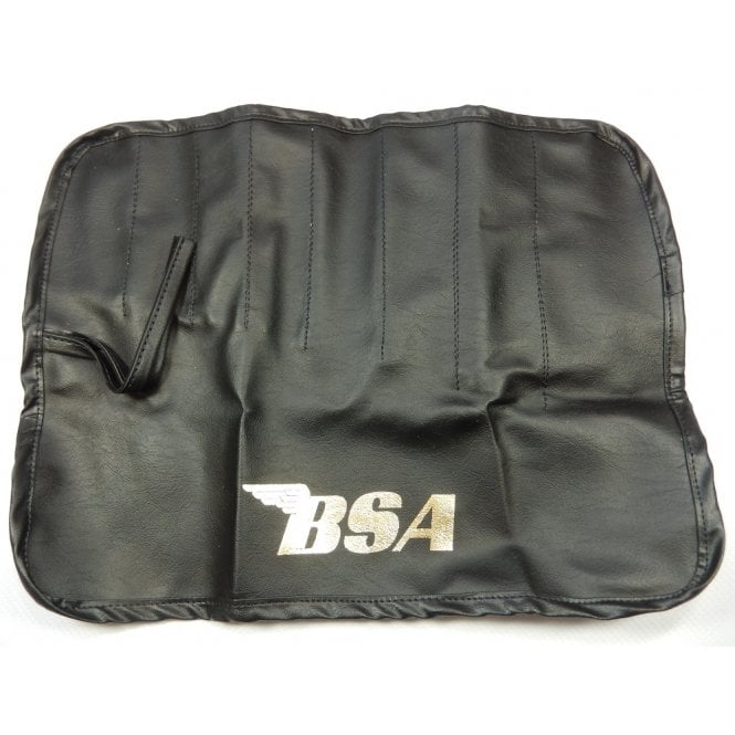 BSA Classic Toll Roll Bag Holds 8 Compartments Made in UK