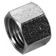 "Classic Motorcycle 7/16"" Fuel Thread Nut."
