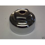 Classic Motorcycle BSA A10, A65, M20 Steering Stem Nut With Damper Hole OEM No 67-5024