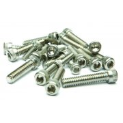 Classic Motorcycle BSA A7 / A10 Engine Casing Bolt Set Stainless Steel