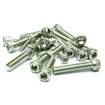 BSA Classic Motorcycle B31 / 33 Engine Casing Bolt Set Stainless Steel