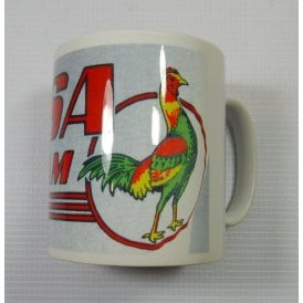 Classic Motorcycle BSA Bantam Mug With Cockrell
