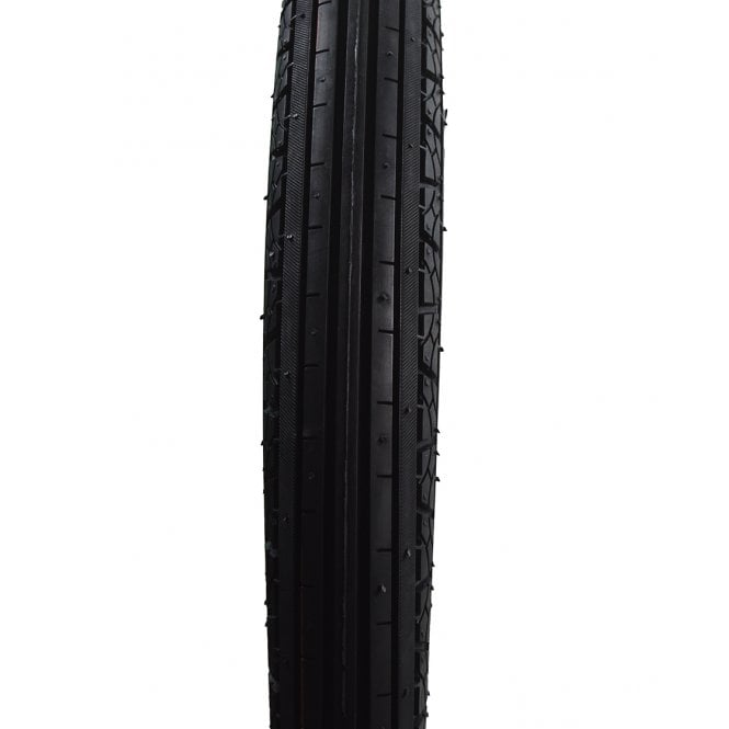 """Classic Motorcycle Front Ribbed Tyre 275 x 18"""" Made by King Tyres Tubed Type"""