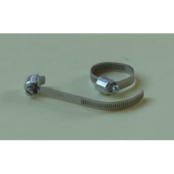 Classic Motorcycle Hose Clip 11-19mm Worm Drive