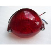 Classic Motorcycle Lucas 529 Rear Lamp Complete With Bulb Twin Filament