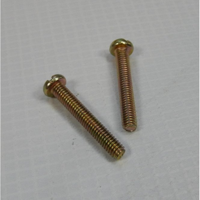 Classic Motorcycle Rear Lense Screws Sold as a Pair 25mm Long