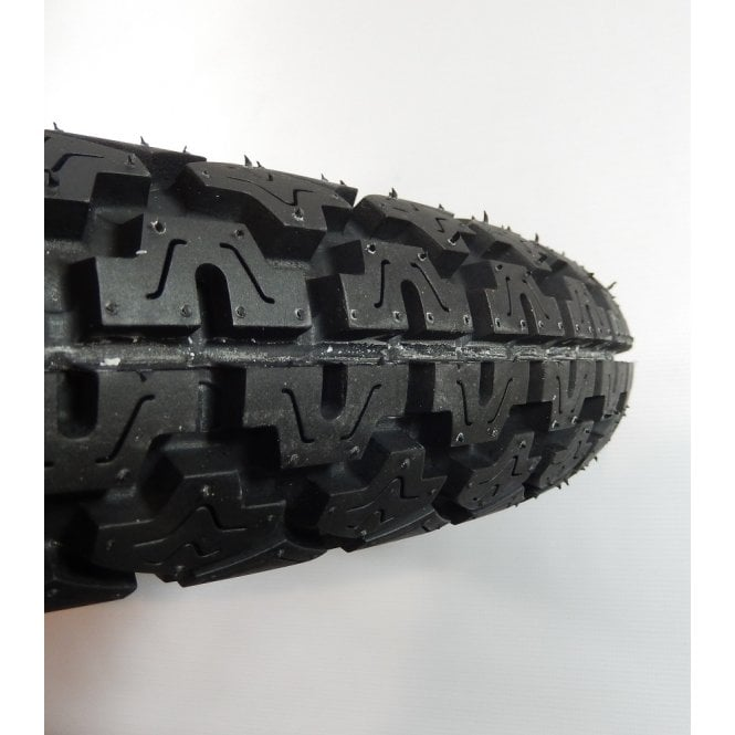 """Classic Motorcycle Rear Tubed Tyres 3.50 x 19"""" 6 Ply Rating DOT E8"""