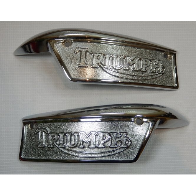Triumph Classic Motorcycle T100, T120, T40, Tank Badges Sold as a Pair
