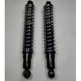 Classic Motorcycle Triumph T120, BSA A7, A10, B31 Open Spring Shocks 12.9""