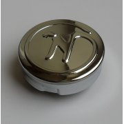 "Classic Norton Fuel Tank Cap Chrome 2.5"" With Norton Logo Push & Turn Fit"