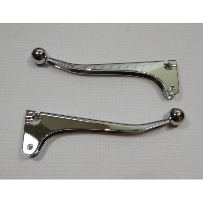 Doherty Brake & Clutch Lever Blades for Classic Motorcycle No 208PA High Chrome Finish