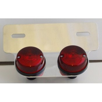 Dual Lens Tail Lamp for Classic Motorcycle