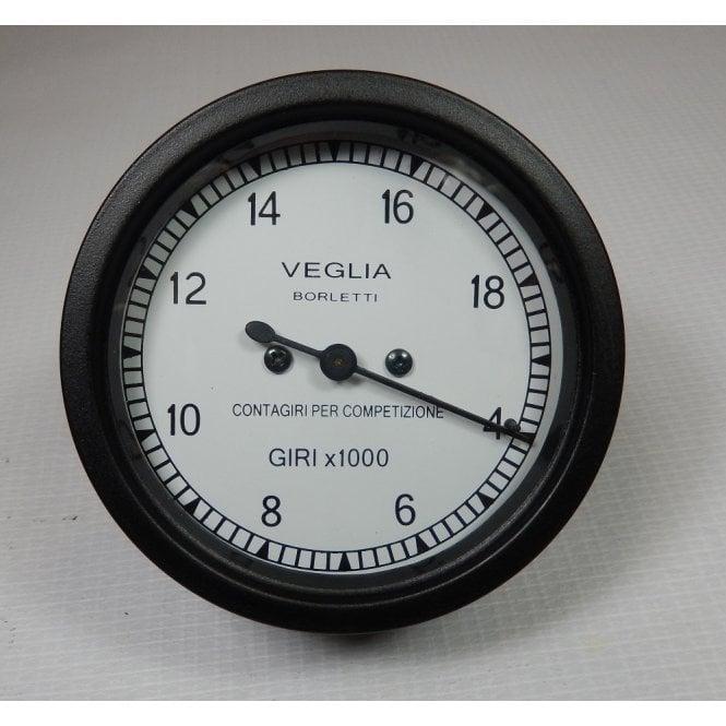 Veglia Ducati Tachometer Borletti 4- 19,000 RPM White Face