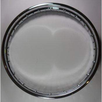 Dunlop Triumph Rear Chrome Rim Stainless Steel WM2 x 19 x 40