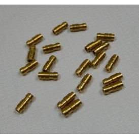 Electrical Bullet Connector Brass for Classic Motorcycle Pack of 20