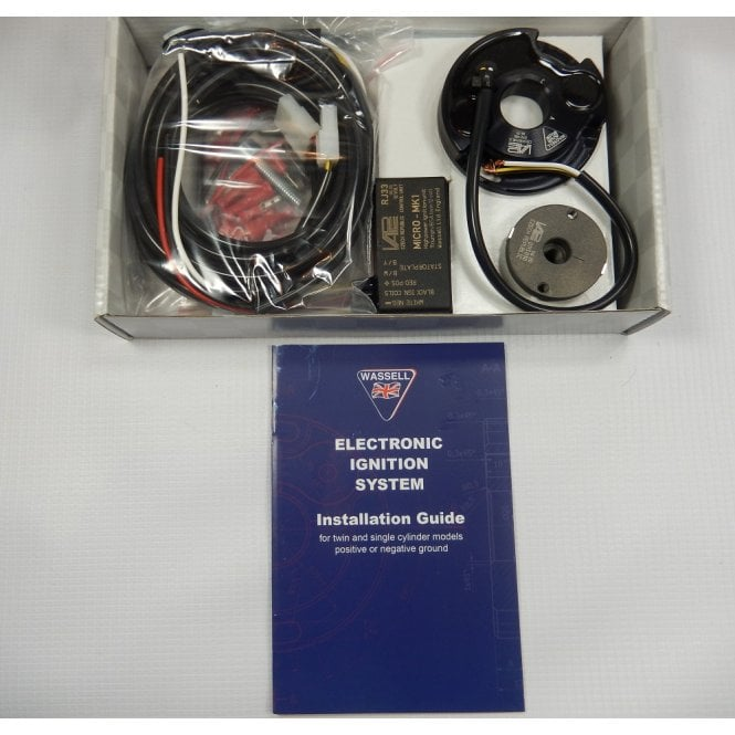 Electronic Ignition System for Classic Motorcycle Complete System UK Supplied 12V