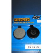 Classic Motorcycle Norton Commando Brake Pads OEM No 06-6186