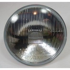 "Genuine 7"" Wipac Headlight Beam Unit Quadoptic Halogen Conversion Headlight No Pilot"