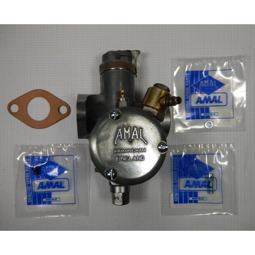 AMAL Genuine AMAL Monobloc Carburetter 375/35 For Triumph 5TA Rebuilt