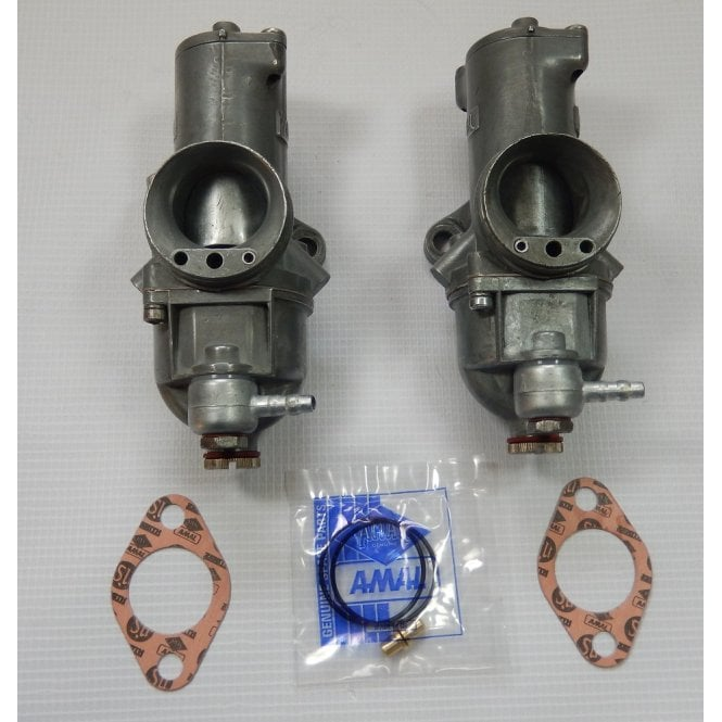AMAL Genuine T140V Carbs Pair 930/R92 & 930/L93 Fully Refurbished & Ultrasonically Cleaned