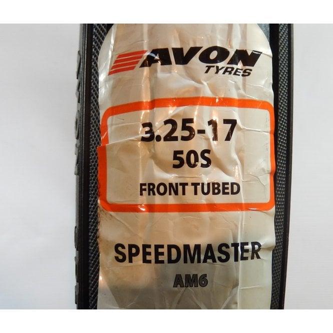 Avon Genuine Speedmaster AM6 Front Tubed Tyre 325 x 17
