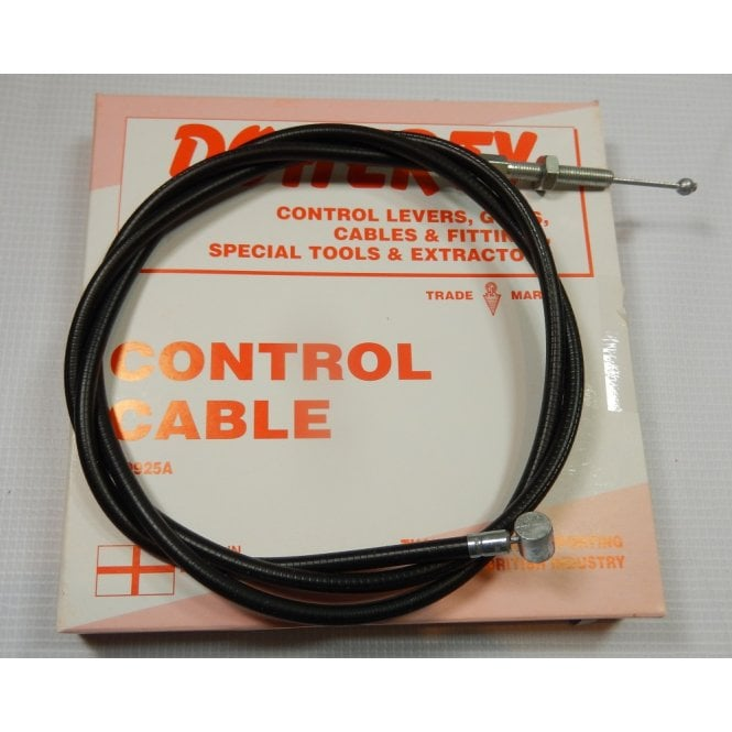 Doherty Genuine BSA A7 / A10 B31 / B32 Clutch Cable OEM No 67-8681 & 65-8680