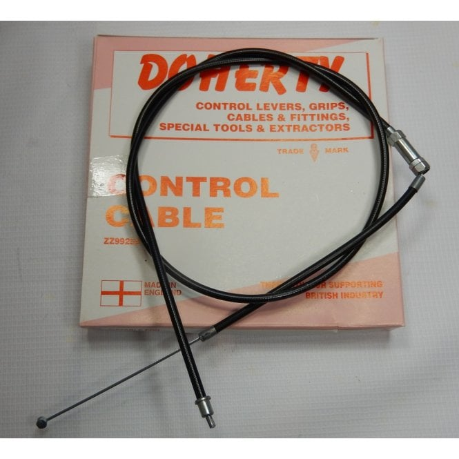 Doherty Genuine Classic Motorcycle Triumph TR6 Trophy Air Cable 39