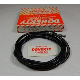 "Genuine Doherty Clutch Cable For Triumph T21,3TA,5TA & T100A 1957-62 46"" Outer"
