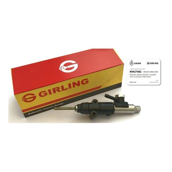 Girling Genuine Rear Master Cylinder for Triumph T140, TR7, T160 OEM 60-4401