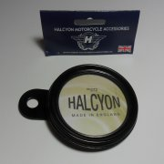 Genuine Halcyon Tax Disc Holder Black Made in England