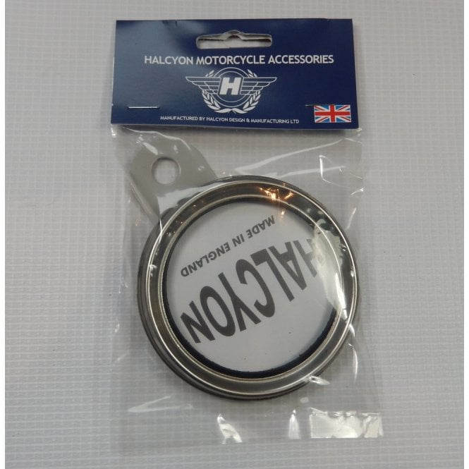 Halcyon Genuine Tax Disc Holder Silver / Grey