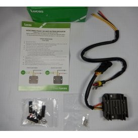 Genuine Lucas Rectifier/ Regulator 120 - 160W Single Phase 12V Pre-wired