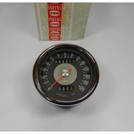 Genuine Original Smiths Speedometer Grey Face 0-150MPH New Old Stock