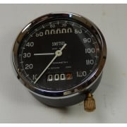 Genuine Smiths Chronometric Speedometer 0 - 120mph Fully Re-furbished With Tripmeter