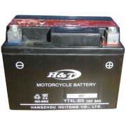 H&T Battery for Classic Motorcycle CT4L-BS 12 Volts
