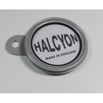 HALCYON Tax Disc Holder Silver Made in England