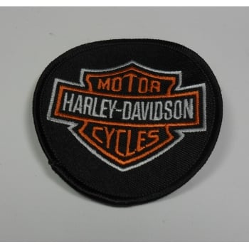 Harley-Davidson Motor Cycles Sew on Badge Made in UK