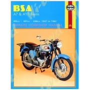 Haynes Manual BSA A7 & A10 Twins, StarTwin, Shooting Star, Road Rocket 1947-1962
