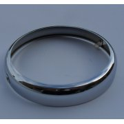 "HEADLAMP RIM - Lucas Replacement Lucas 6-1/2"" Chrome Headlamp rim"