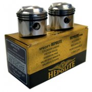 Pair of Hepolite Pistons for BSA A65 650cc models etc (1962-73)