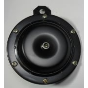 12V Black Horn 100mm Diameter 110db Excellent Quality