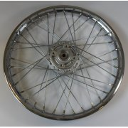 Honda ANF125 Innova Front Wheel Complete With Hub 1.40 Width x 17""