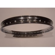 Honda C50, C70, C90 Chrome rim Front or Rear 1.20 x 17