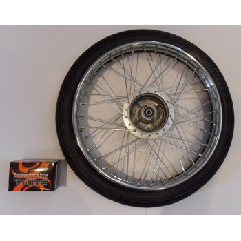 Honda C50,C70 C90 Front Wheel Set C50, C70, C90 Rim Size 1.20 x 17 Tyre & Tube