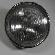 Honda C50, C70, C90 Headlight Beam & Chrome Rim Complete