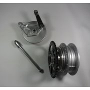 Honda C50,C70,C90 Rear Hub Complete With Brake Assembly & Rear Sprocket