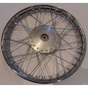 "Honda C50,Rim Front Size 1.20 x 17"" Complete with Hub Fits Models 1993 - 2003"