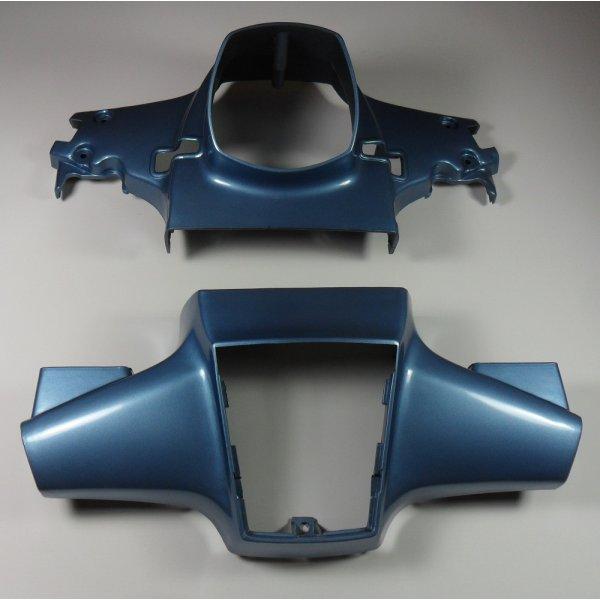 C90 Cub Blue Plastic Handlebar & Headlight Covers